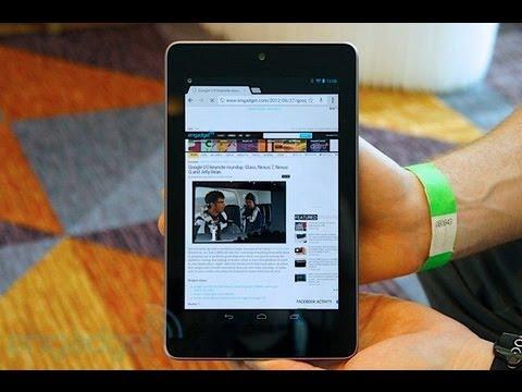 Google Nexus 7 32GB Wifi - Hands on