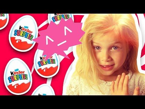 Киндер сюрприз видео. Открываем киндер яйца Свинка Пеппа. Kinder Surprise Eggs