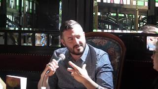 Imaginales 2018 : Rencontre avec Ed McDonald