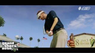 Let's Play GTA 5 #010 [ PS3 | Deutsch | FullHD ] - Freizeitaktivität Golf spielen
