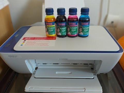 Как заправлять цветной картридж для принтера самому - HP