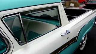 Rare 1957 Ford Ranchero