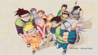 Naruto Opening 1 [ Rocks ~ Hound Dog ] Full Version 320kbps Ost. Naruto Episode 1-25