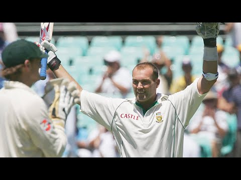 From the vault: Kallis's defiant SCG ton