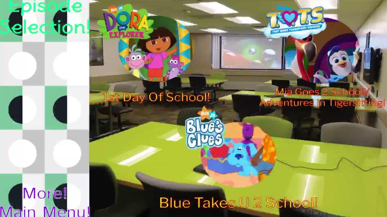 School's On DVD Menu!