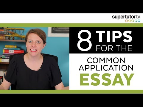 CRUSH The Common Application Essay! 8 Tips.