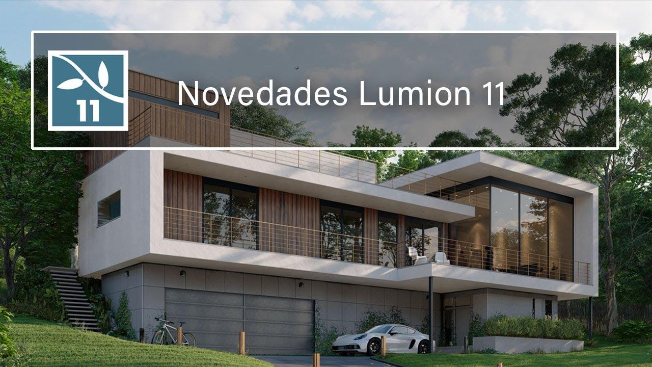 Te presentamos Lumion 11 - Ahora renders más realistas que nunca