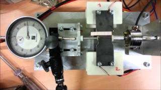 Magnetic shape momory alloy operating demo