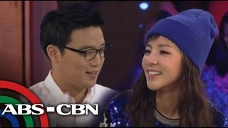 Sandara Park meets Ryan Bang