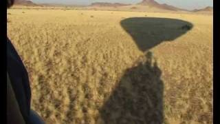 Hot Air Ballooning Safari over the Dunes at Sossusvlei in Namibia