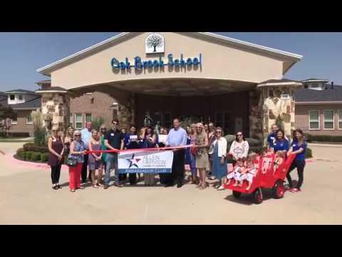 Oak Brook School Ribbon Cutting - Allen Fairview Chamber