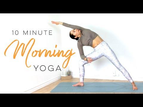 Morning Yoga For Energy | 10 Minute Yoga | Yoga With Bird