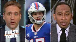 Max & Stephen A. have different views on the Bills' Super Bowl hopes | First Take