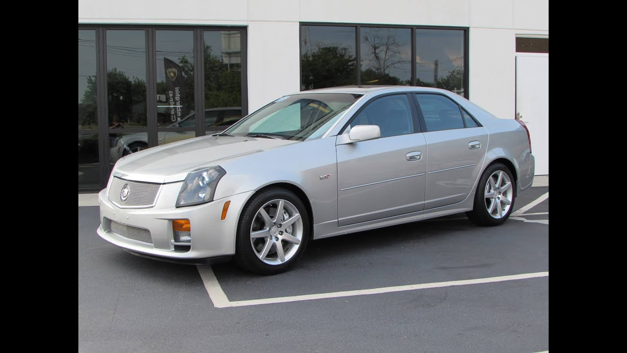2004 cadillac cts v ls6 v8 start up exhaust and in depth review youtube
