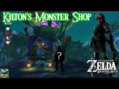 Zelda Breath of the Wild - Kilton Monster Shop Location (How to Get Dark Link Tunic)!