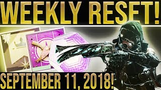 Destiny 2 Weekly Reset (New Patch) Powerful Gear, Milestones, Vendor Items/ Challenges
