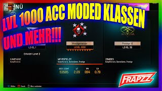 BO3 | LEVEL 1000 | MODDED KLASSEN | BOWIE KNIFE | ZOMBIE PRESTIGEMASTER | HD