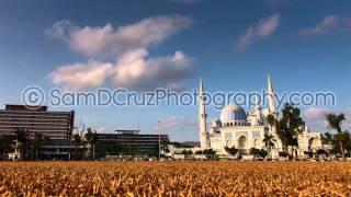 Timelapse - Masjid Negri Sultan Ahmad Shah Mosque, Kuantan, Malaysia