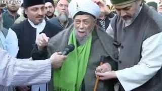 Ayberk Efendi ve Mehter Takimi Seyh Nazim Efendi'nin Huzurunda
