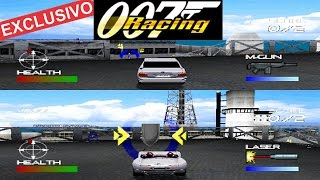 007 Racing 2 players psone (Inédito no youtube)