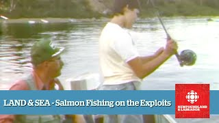 Land & Sea - Salmon Fishing On The Exploits River (Full Episode From 1987)