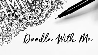 Doodle With Me   Sketchbook Sessions