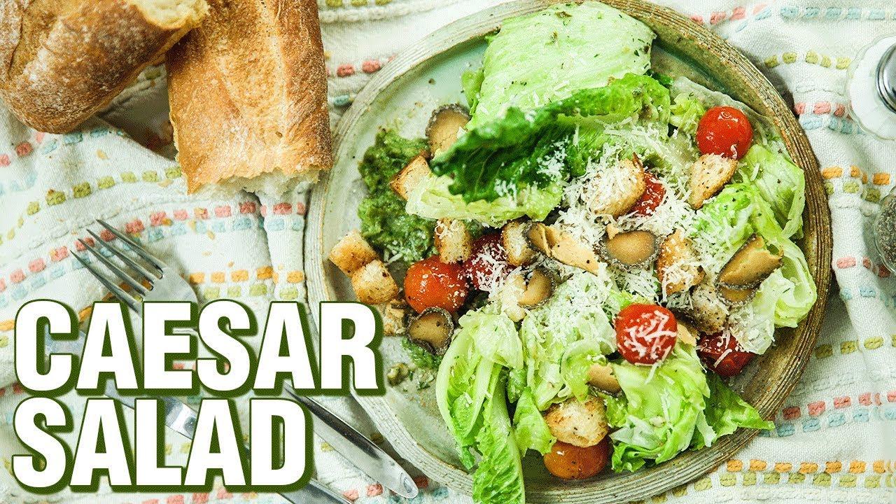 Caesar Salad Recipe How To Make The Best Caesar Salad At Home Salad Recipes Rishim Sachdeva Youtube