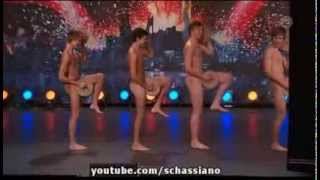 Repeat youtube video Boys Get Nude On Sweden's Got Talent To Perform The Crisp Bread Dance