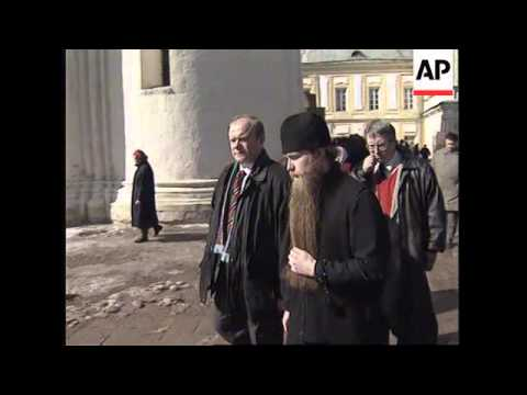 RUSSIA: ORTHODOX EASTER CELEBRATIONS