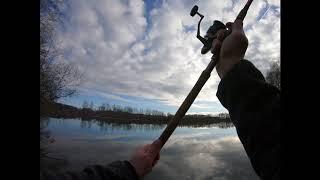 Выехал на рыбалку 2020 2021 на два Озера за щучкой И новая програма монтёр попробовал
