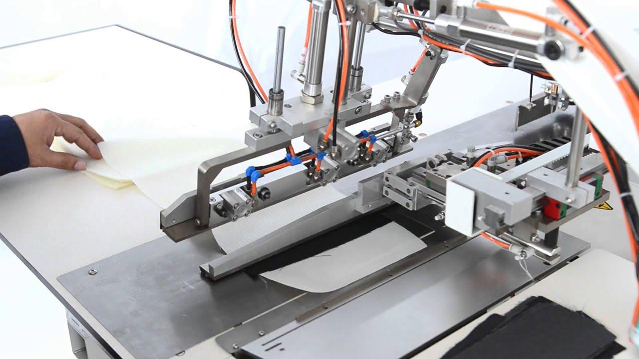Weishi Automatic Pocket Facing Stitch Machine For Making
