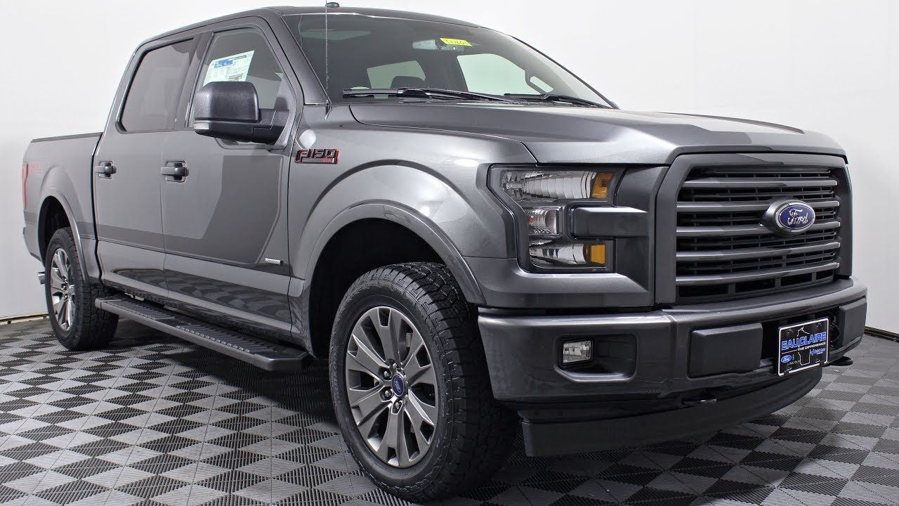 2017 ford f 150 xlt special edition supercrew cab ecoboost fx4 at eau claire ford lincoln quick. Black Bedroom Furniture Sets. Home Design Ideas