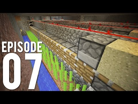 Hermitcraft 3: Episode 7 - Industrial Sugar Cane Production