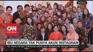 Gambar cover Ditanya Akun Instagram, Begini Respon Ibu Negara Iriana Widodo