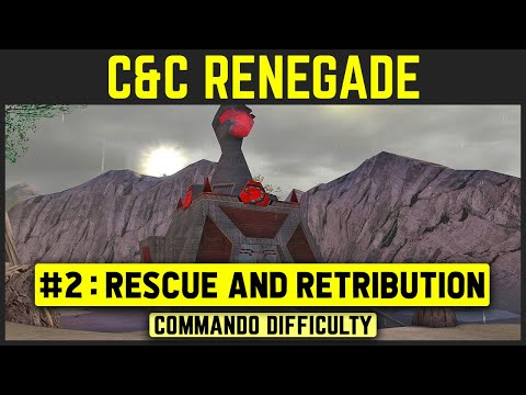 Command & Conquer: Renegade - Mission 2 - Rescue and Retribution [Commando Difficulty] 1080p