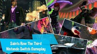 Saints Row The Third Nintendo Switch Gameplay
