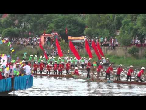 Lễ hội đua thuyền tại Lệ Thủy Quảng Bình 2-9-2015