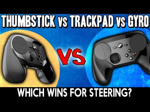 Steam Controller Showdown! Joystick vs Gyro vs Trackpad - Which Wins for Steering? - Jalopy