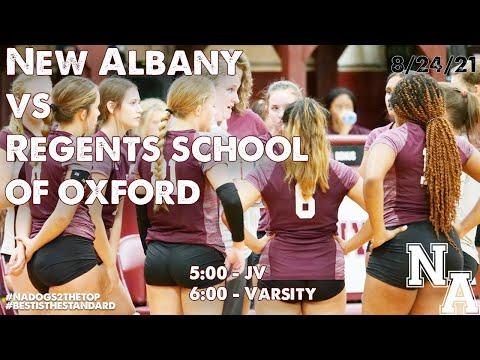 Volleyball - New Albany vs Regents School of Oxford 8/24/21
