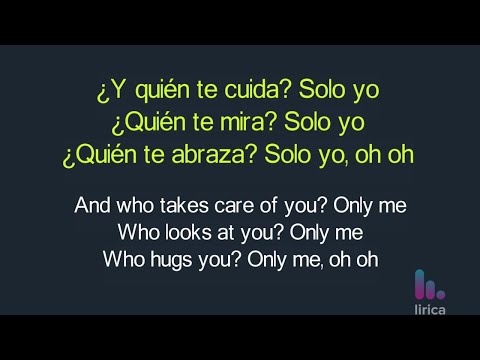 CNCO - Sólo Yo Lyrics English and Spanish - Translation & Subtitles