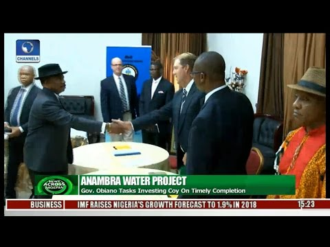 News Across Nigeria: Anambra State Govt. Signs MoU With South African Company