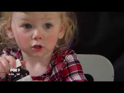 Minnesota toddler develops allergy to water