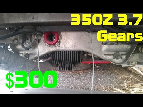 Nissan 350Z 3.69 Differential Gear Upgrade for $300