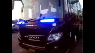 Bejeu L5 Strobo+Sirine Polisi @GALERI BUS INDONEISA
