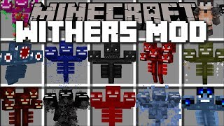 Minecraft WITHER MOD / FIGHT AND SURVIVE AGAINST EVIL WITHER STORM!! Minecraft