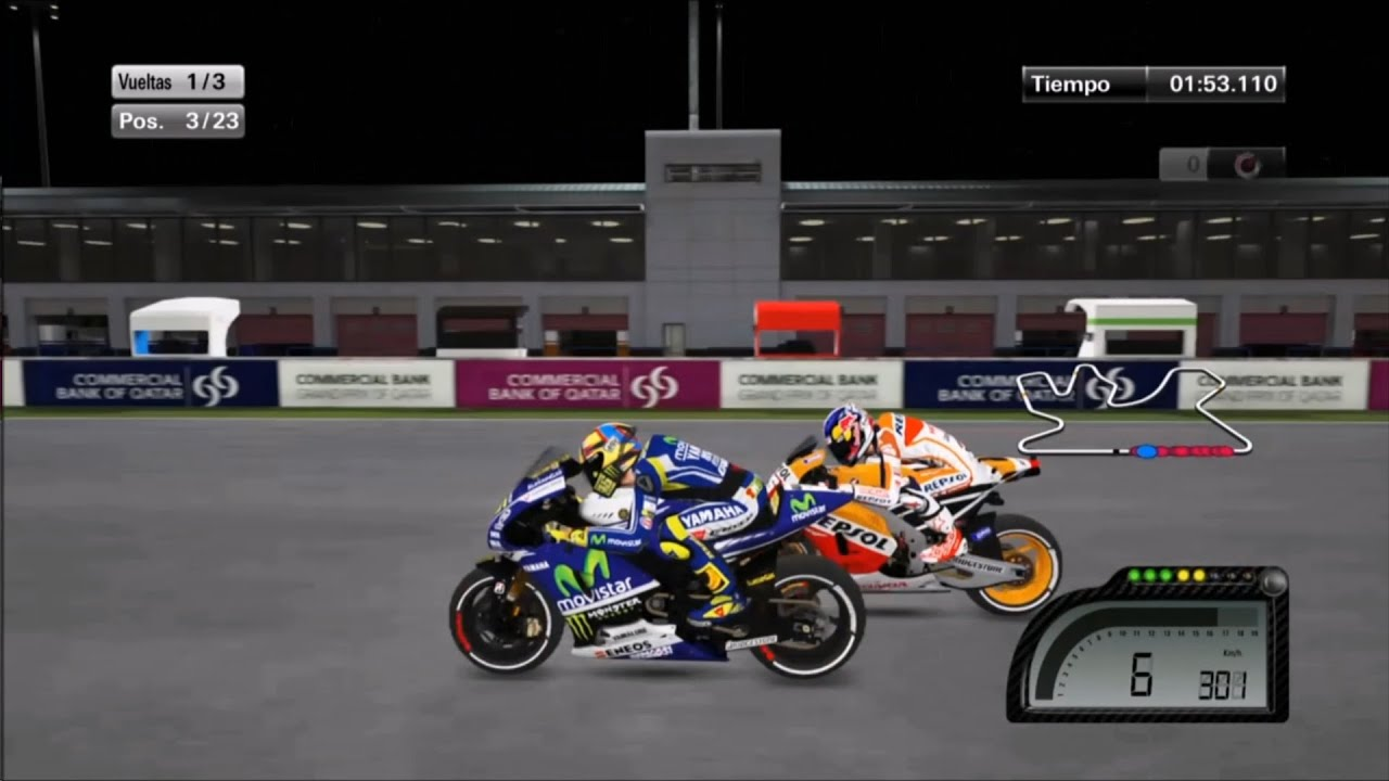 MOTO GP 2014 PS4 - Qatar, Valentino Rossi - YouTube