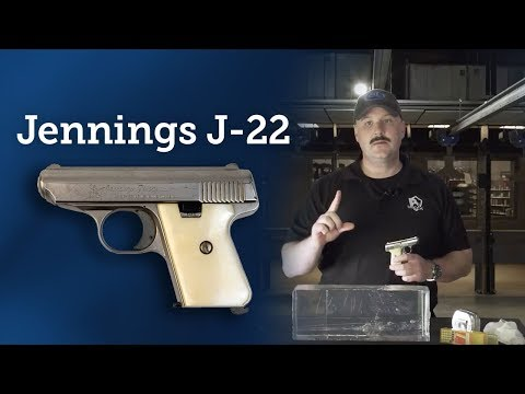 Clear Impact: Jennings J-22 With 22 Long Rifle Ammunition