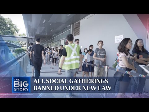All social gatherings banned under new law   THE BIG STORY   The Straits Times