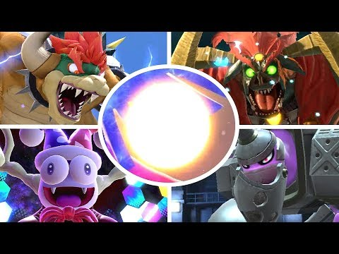 Super Smash Bros Ultimate - All Bosses + Cutscenes