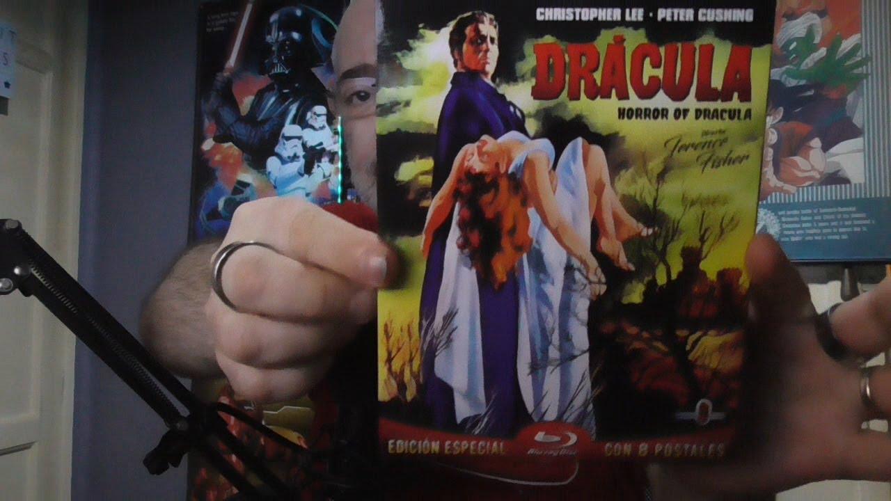 Download Dracula (1958) bluray edición especial (unboxing)